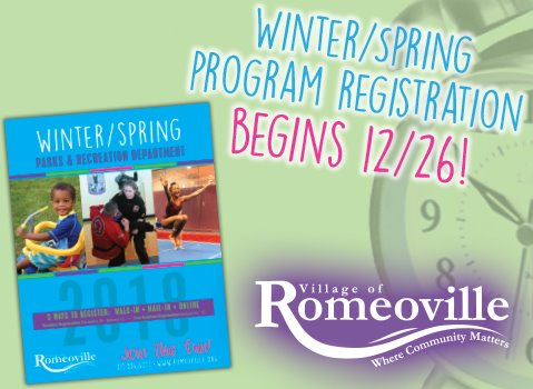 Register for Winter programs
