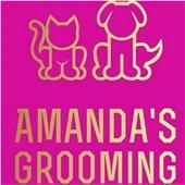 Amanda's Grooming logo