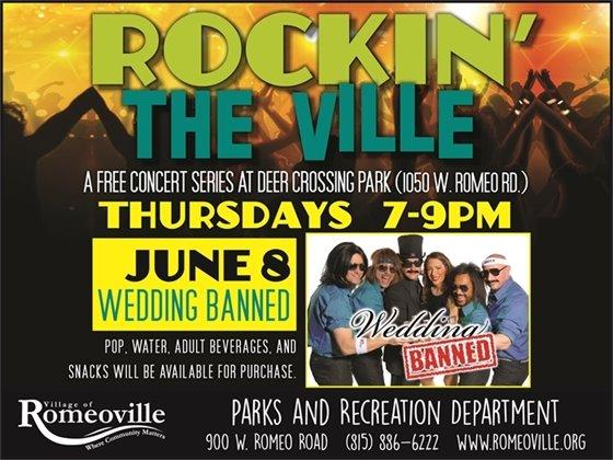 rockin the ville poster