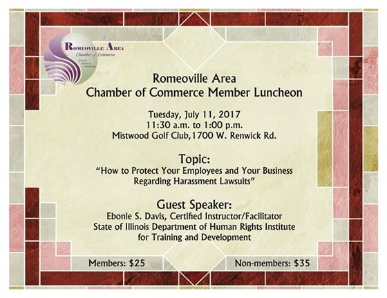Chamber July luncheon
