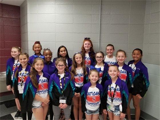 Romeoville Tumbleweeds Gymnastics Team