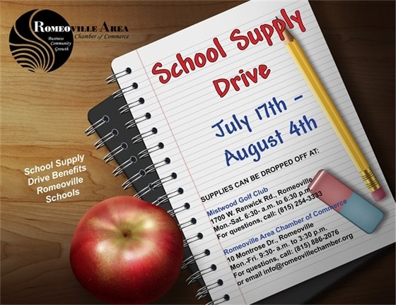 RACC School Supply Drive