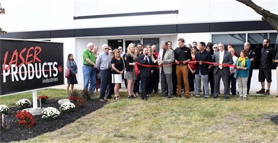 Laser Products Ribbon Cutting