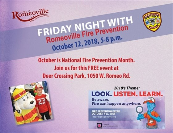 Friday Night with Fire Prevention