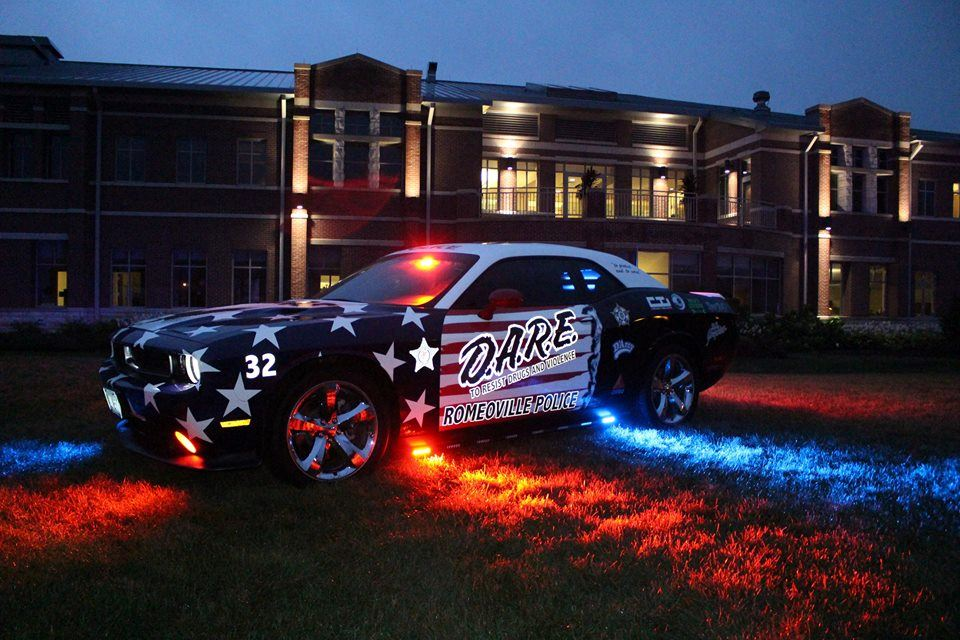 DARE Car at Village Hall