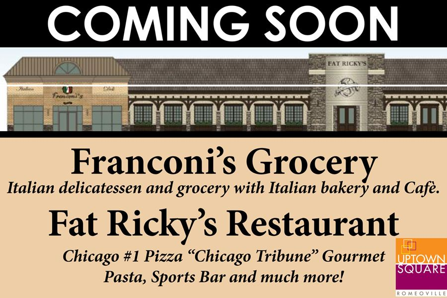 Fat Rickys Coming Soon Sign