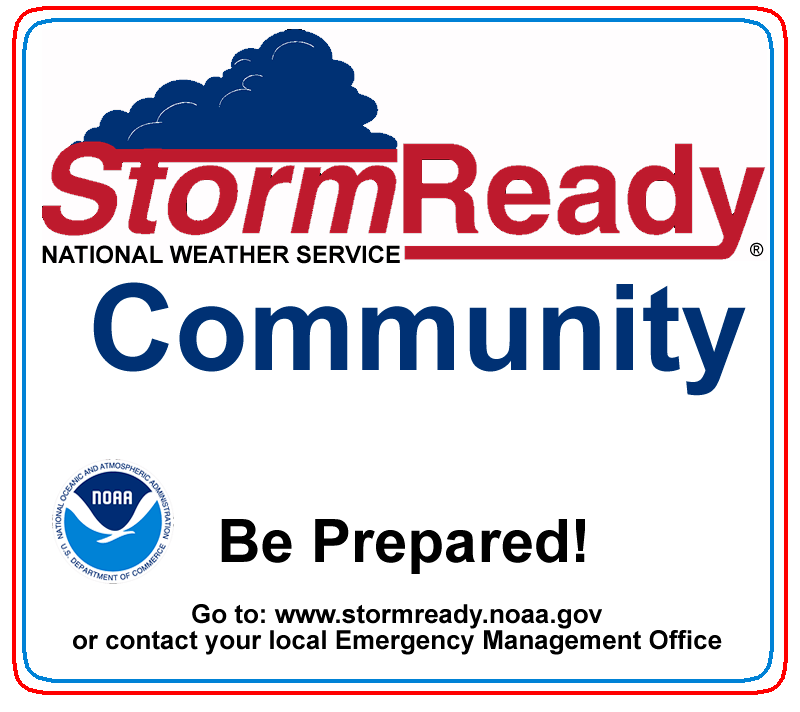 StormReady Community - Be Prepared