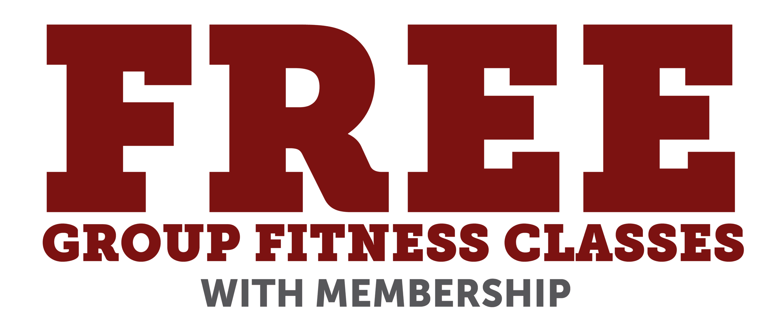 Free Group Fitness Classes With Membership