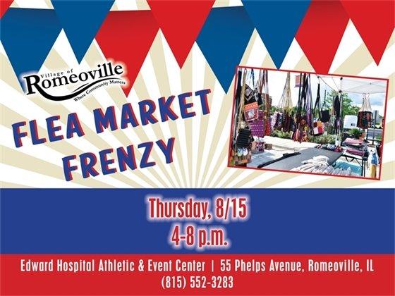 flea market 8/15