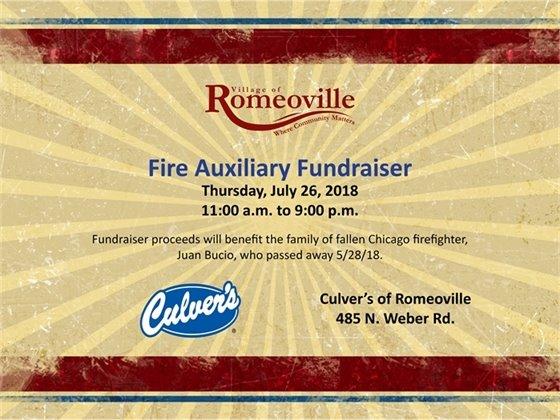 Fire Auxiliary Fundraiser