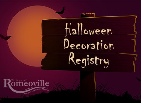 Halloween Decor Registry NF